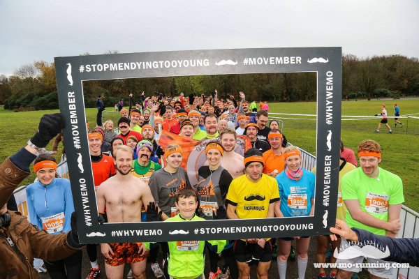 MoRunning 5k and 10k runs fundraising for the Movember Foundation
