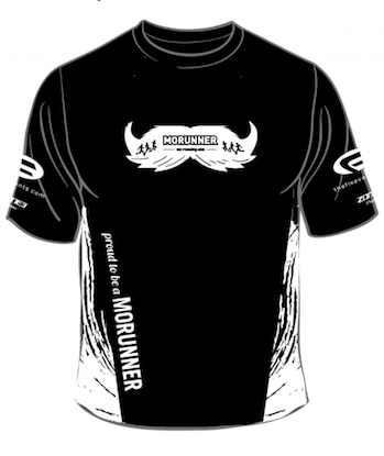 MoRunning Tees 2020 technical tshirts for MoRunners supporting Movember